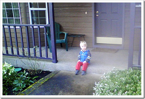 g on front step - feb 2009rt