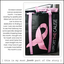 thursday - pink ribbon insert