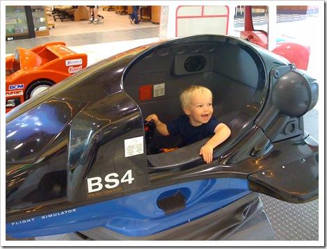 G rides mall plane - july 2009