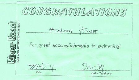 G's swim rprt 2011 blog