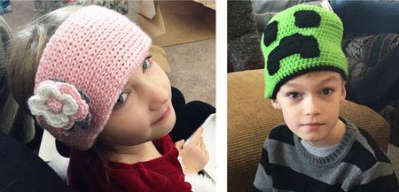 Hats from nana