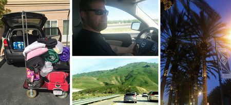 On the road to anaheim