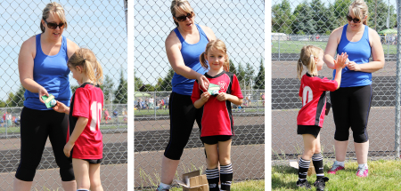 E's soccer award