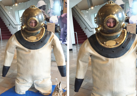 G+E in diving suits