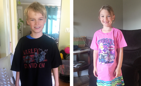 Kids sturgis shirts