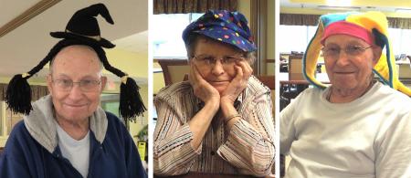 Grandma-pa hats