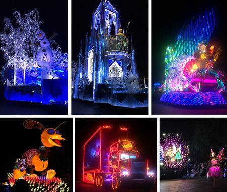 Light parade pics