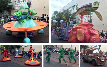 Pixar parade pics