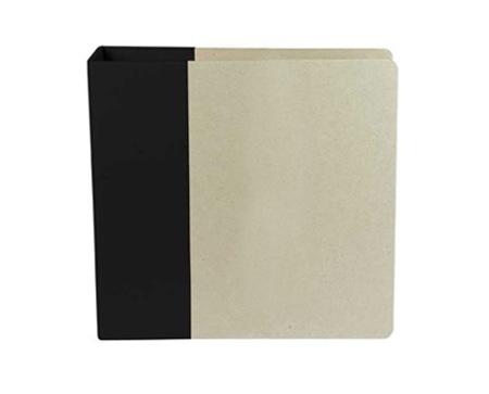 8.5x11 black album