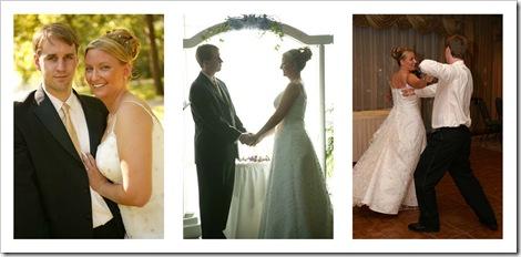 wedding day trio