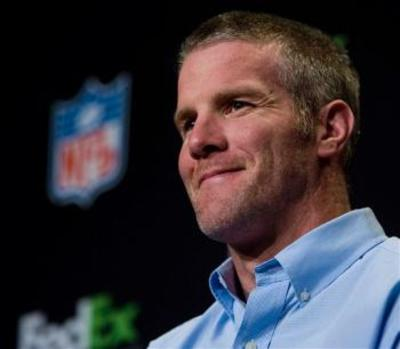 brett favre pictures text. Brett Favre Press Conference